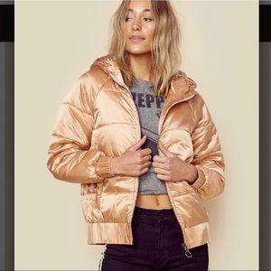 NWT MINKPINK Hooded Juno Puffa Jacket XS